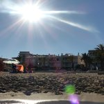Strand vor BELLAMAR (hier ganz links)