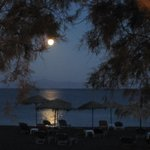 Månen er på vej ned