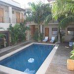 Rooms Surrounding Pool