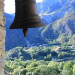 View from the Boi village Bell Tower to Erill la Vall