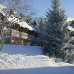 PHOTO CHALET HIVER
