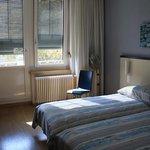 Corner room with balcony