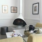 Dining room Fireplace!