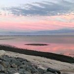 Beautiful Bay Front Sunset