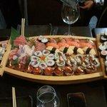 Barca de sushi