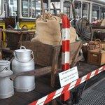 Gemüsetransport für den Markt