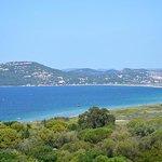 Vue de GIENS (côté plage de la Madrague)