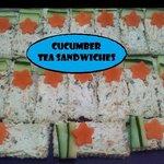 Tea Sandwiches at 3 Sisters  Tea