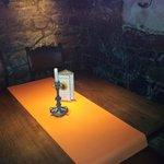 Gemütliche und abgeschiedene Tische im Gewölbe