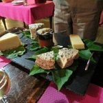 dinner - cheese plate