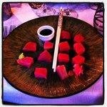 sashimi thon rouge