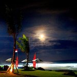 night surfing at Keramas