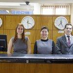 Equipe da Recepção do Hotel Nacional Inn SJCampos