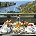 Notre plateau de petit déjeuner