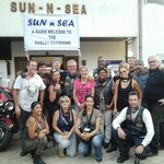 The Harley Davidson riders at Sun N SEA
