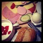 Breakfast is great!!!