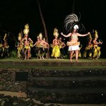 The stage show (Old Lahaina Luau)