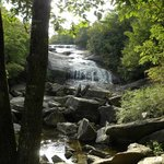 Nearby waterfalls at Graveyard Fields