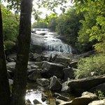 Nearby waterfalls at Graveyard Fields