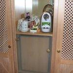Zimmer Minibar Kaffeeautomat