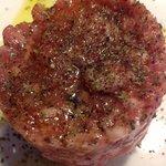 Tartaleta de salchichon de Malaga