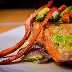 Salmon en salsa de Kiwi