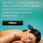 Be sure to check out our special offers for our spa