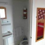 en-suite family room bathroom