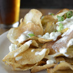 Homemade Blue Cheese Chips