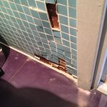 tiles off wall