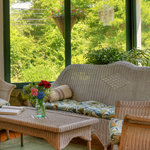 Relax on our screened in front porch