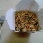 Muffins chicken noodle box