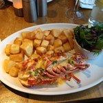 Scottish lobster Thermidor
