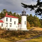 Cool Lighthouse, a must see on the north coast of Whidbey Island.
