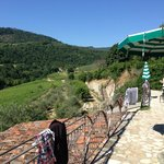 View from outside our room - fattoria 15