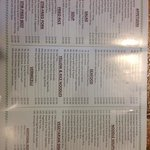 Asian banana leaf menu