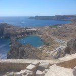 Lindos; view from the Acropolis