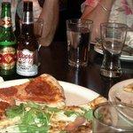 Yummy....Pizza Antica!!!