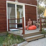 Área exterior de um bungalow