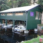 The Boathouse Resteraunt at Fort Augustus