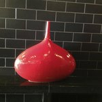 Forcello Eatery - decor, red vase