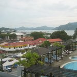 kuah town and pool