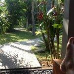 Chilling on Villa 246 balcony - Rama Beach Resort