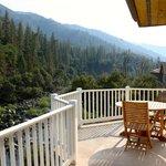 Full private balcony - Sunflower Suite