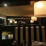 Inside Equinox restaurant
