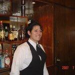 Uma bela funcionária do hotel - Daniely