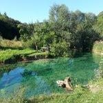 Crystal clear Korana River