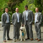 Wedding suits we custom made for the Gibson family.