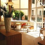 Patio & Breakfast area