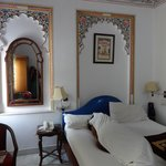 Our room at Krishna Niwas Udaipur